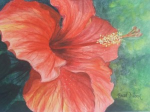 By Brad Hook, a watercolor artist and instructor at the Tybee Arts Association.