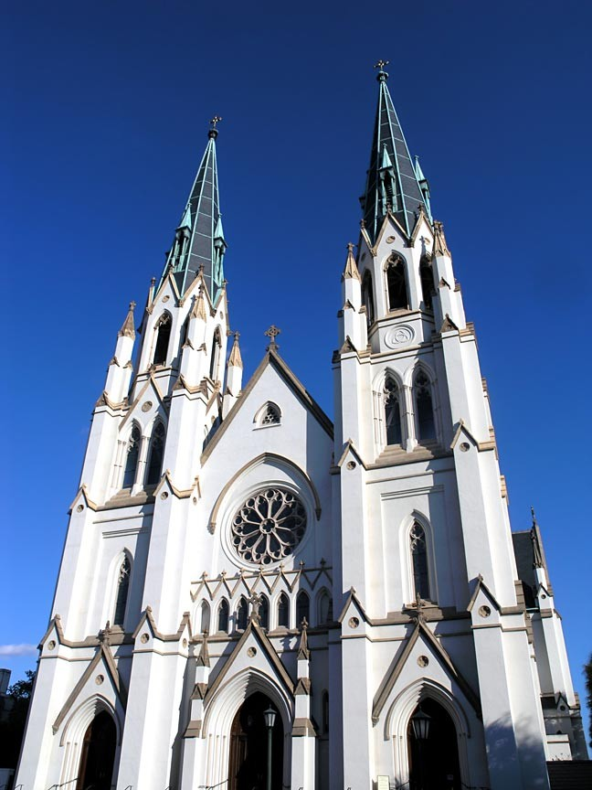 Savannah's Cathedral of Saint John the Baptist