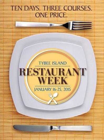 Tybee Island Restaurant Week 2015
