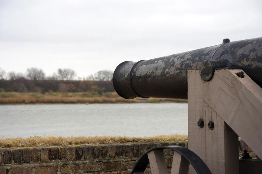 Civil War Savannah - Fort Jackson