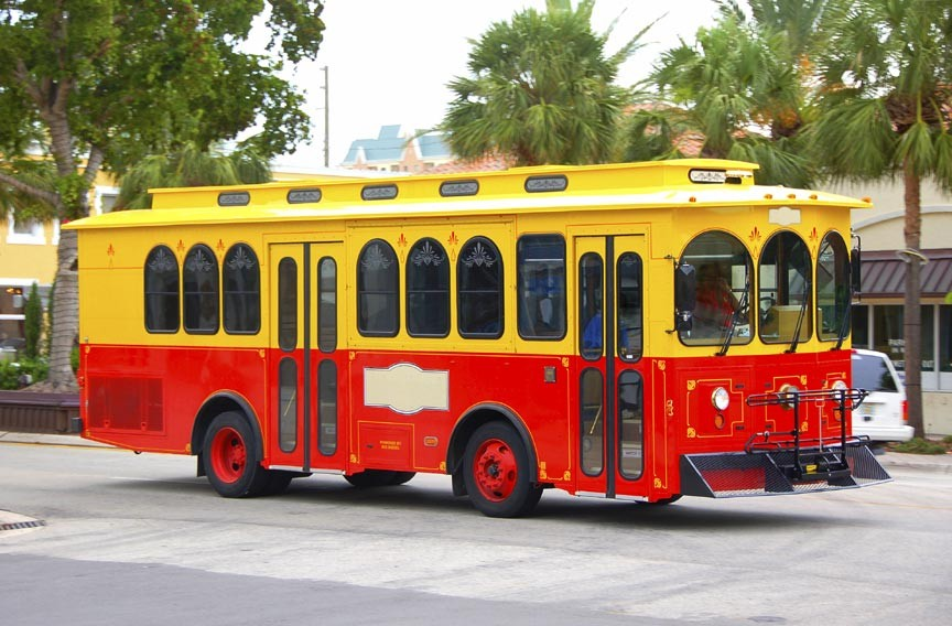 Take a Savannah Trolley Tour!