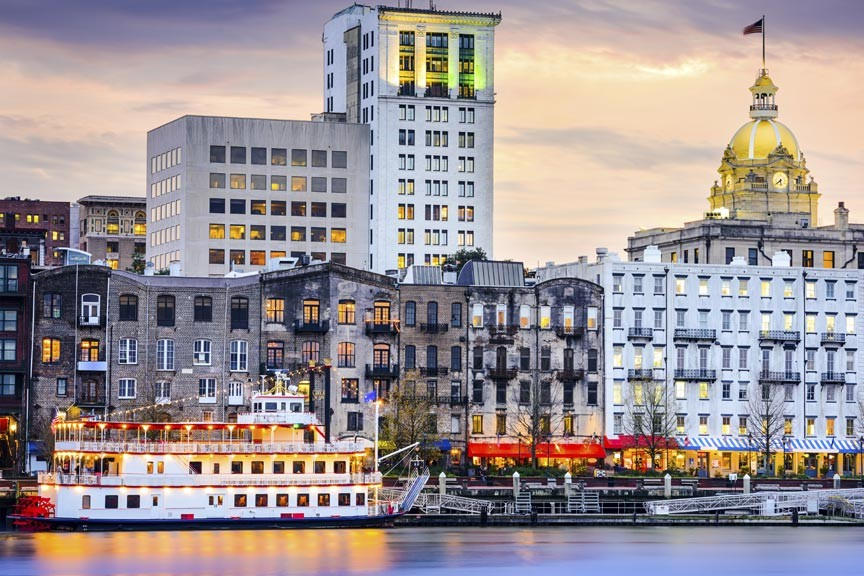 Enjoy a romantic Savannah Riverboat cruise!