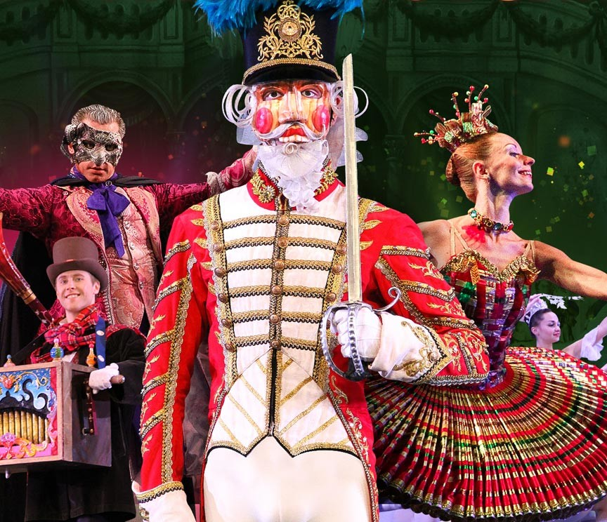 Moscow Ballet's Great Russian Nutcracker at Savannah's Lucas Theatre