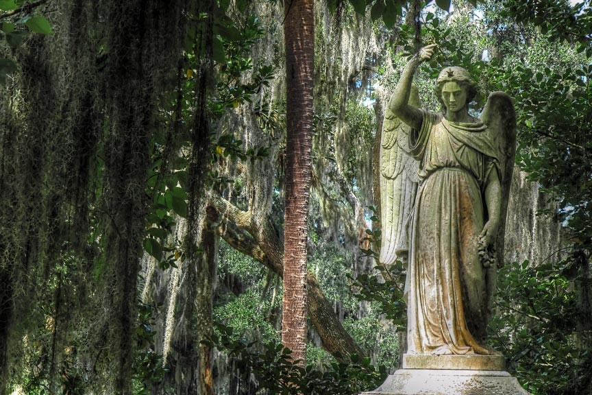Savannah's Bonaventure Cemetery