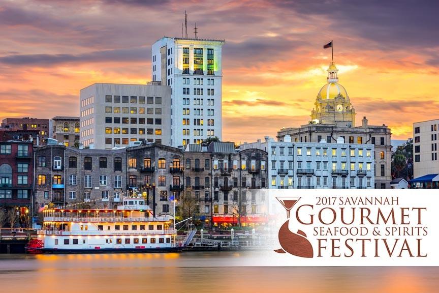 Savannah Gourmet Seafood & Spirits Festival 2017