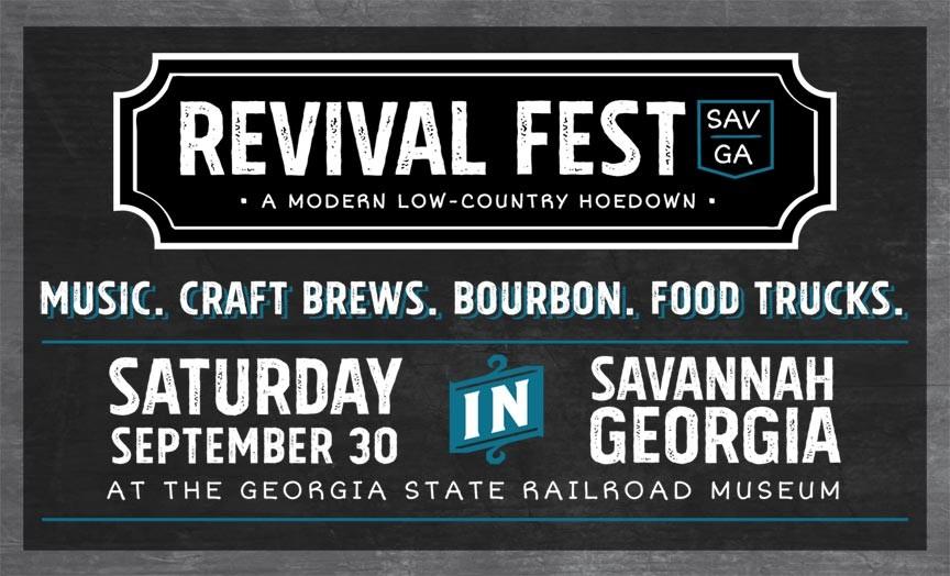 Savannah Revival Fest 2017 - A Modern, Low-Country Hoedown