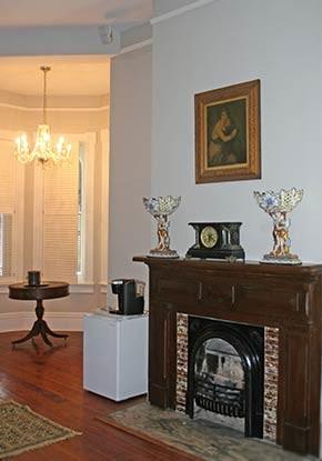 Forsythe Room Fireplace