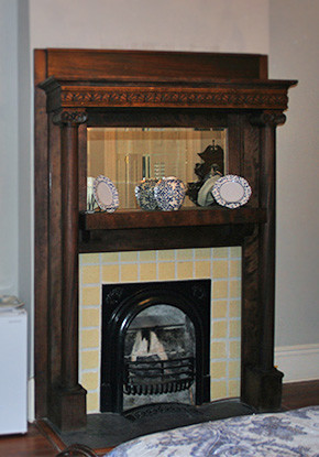 Fireplace in Montgomery Room