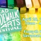 SCAD Sidewalk Arts Festival 2018