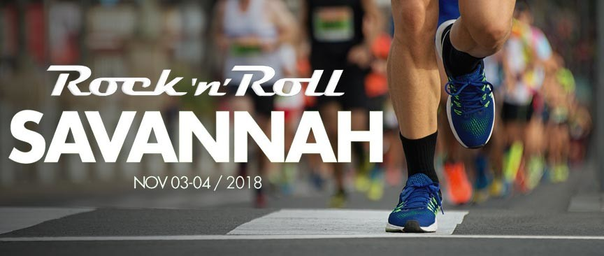 Rock n Roll Savannah 2018 Marathon and Half Marathon
