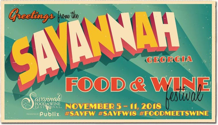 Savannah Food and Wine Festival 2018