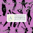 Savannah Antiques and Architecture Weekend 2019