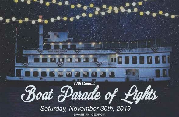 Savannah Boat Parade of Lights 2019