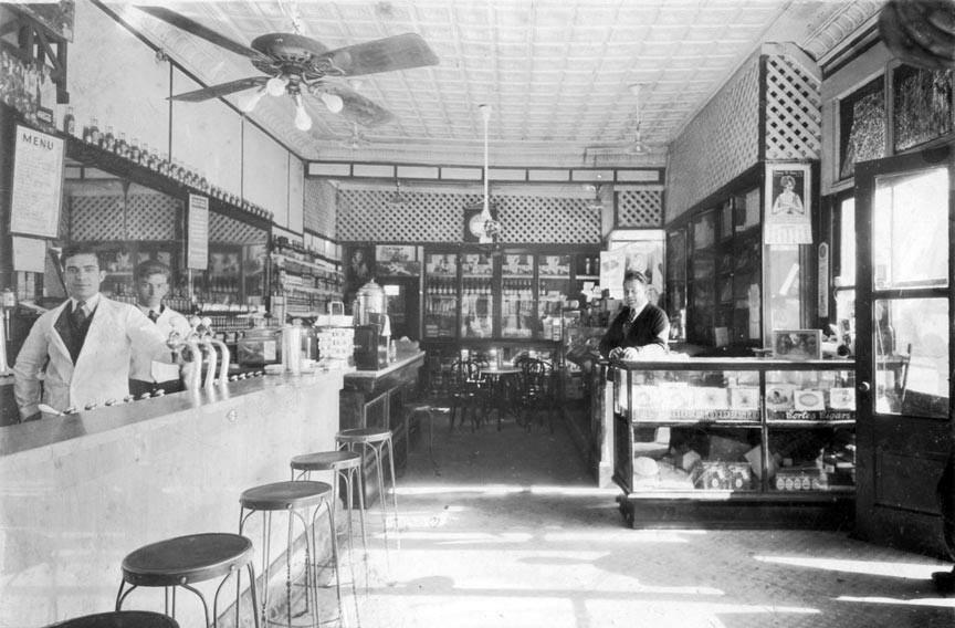 Leopold's Ice Cream in 1924