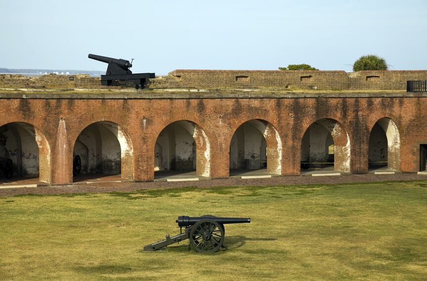 Fort Pulaski National Monument canons