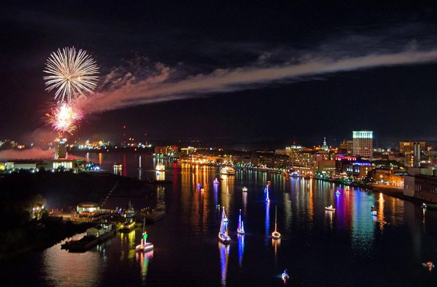 Savannah Boat Parade of Lights 2020