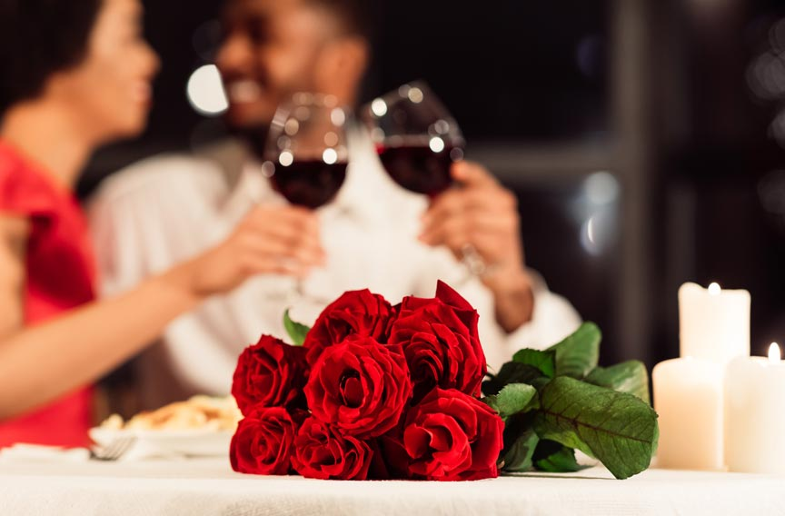 Savannah Valentine's Day romantic dinner