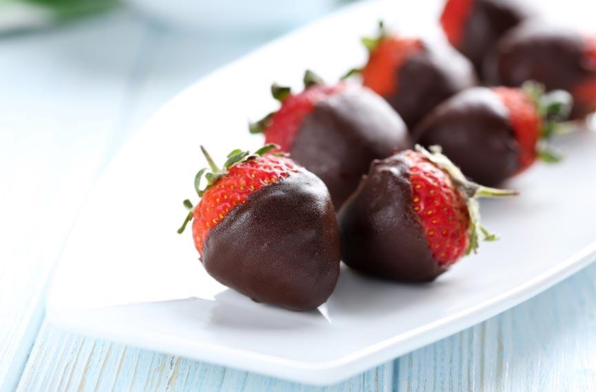 Savannah Valentine's Day chocolate covered strawberries