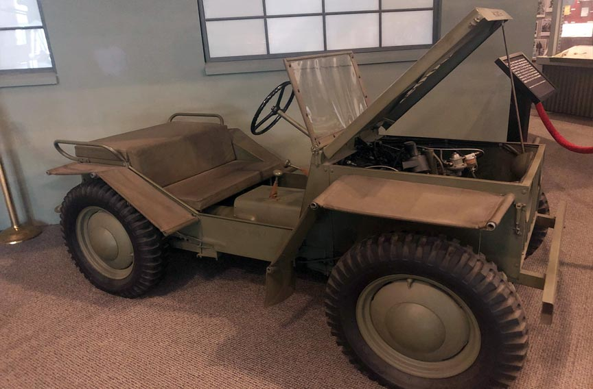ow Jeep at the National Museum of the Mighty Eighth Air Force