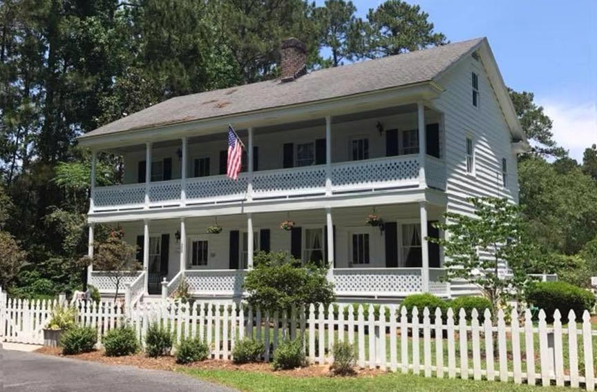 Savannah Botanical Gardens Reinhard House