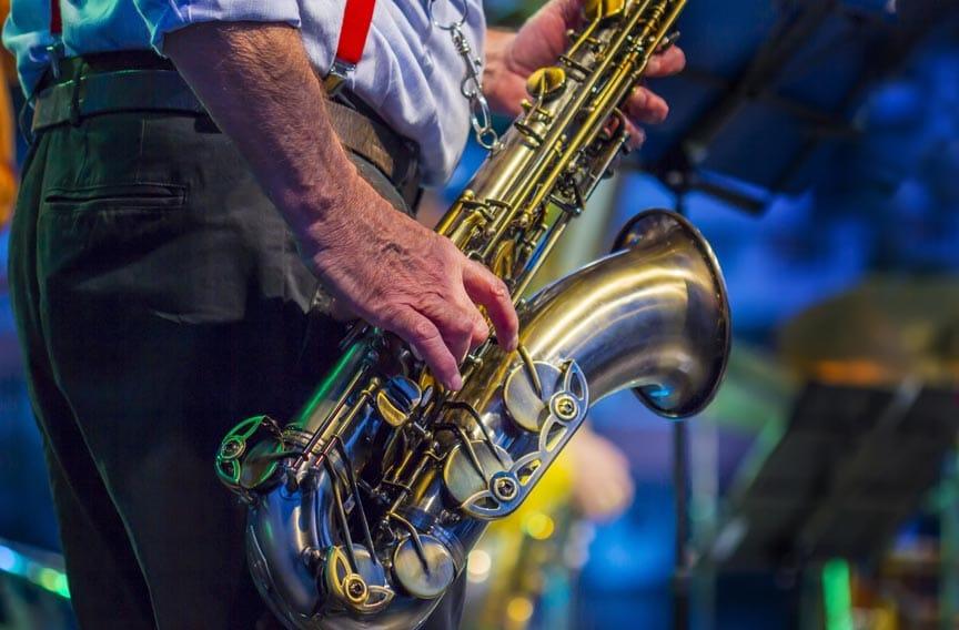 Savannah Music Fesitival 2021 saxophone