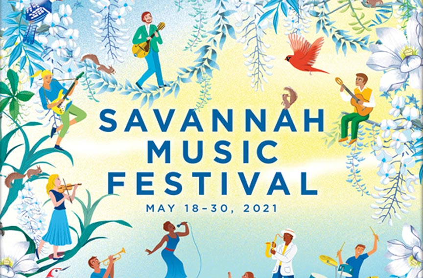 Savannah Music Fesitival 2021 Spring Season