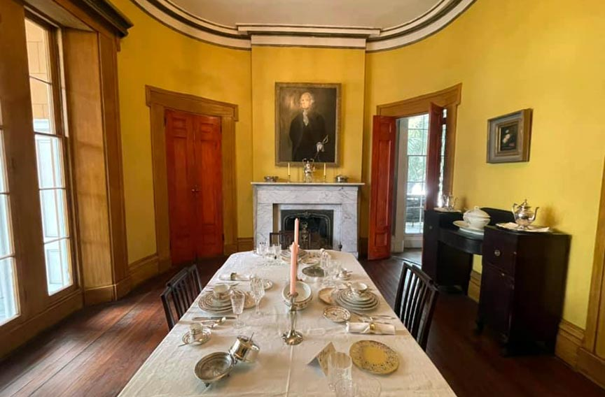Sorrel Weed House Museum dining room