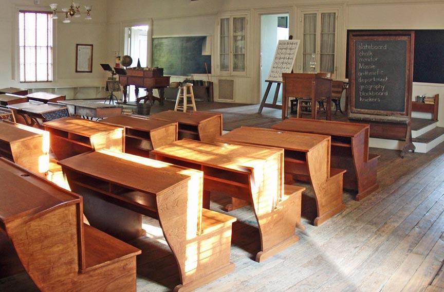 Massie Heritage Center 1880's classroom