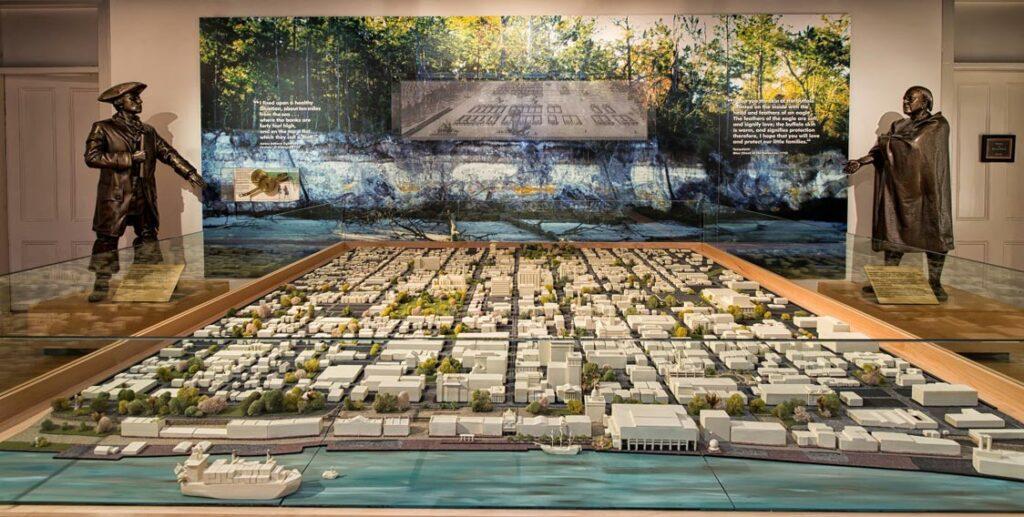 Massie Heritage Center Savannah city map