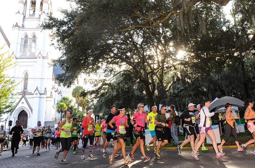 2021 Rock n Roll Savannah Marathon